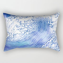 Pacific Waves II Rectangular Pillow