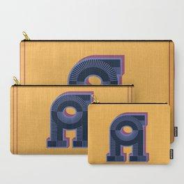 Alphabet Drop Caps Series- A Carry-All Pouch