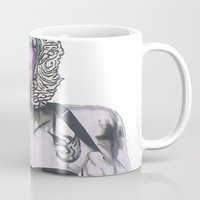 celebrity Mugs featuring Celebrity by R.A.Carrie