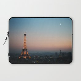 Paris Soft Sunset Laptop Sleeve