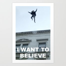 I Want to Believe in Sherlock Holmes Art Print