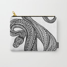 Ornate ball python Carry-All Pouch