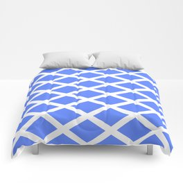 abstraction from the flag of scotland. Comforters