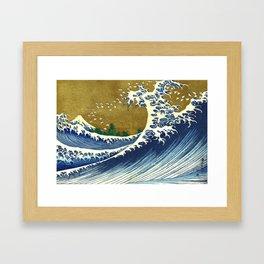 Katsushika Hokusai Big Wave Framed Art Print