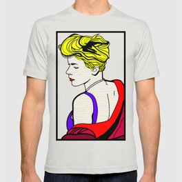 Robyn - Roy Lichtenstein Inspired Portrait 2 T-shirt