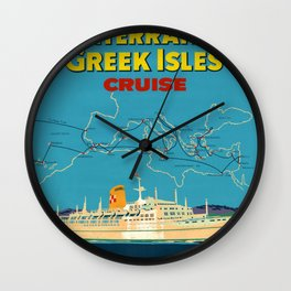 Nautical Art 42 Wall Clock