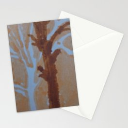 Mark of a street tree Stationery Cards