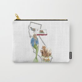 California Mermaid Carry-All Pouch