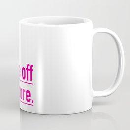 Score with the underscore. Coffee Mug