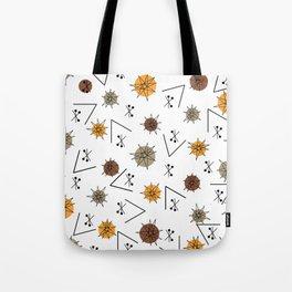 Mid Century Modern Sputnik Starburst Planets 9 Tote Bag
