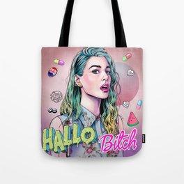 Hallo B*tch Tote Bag