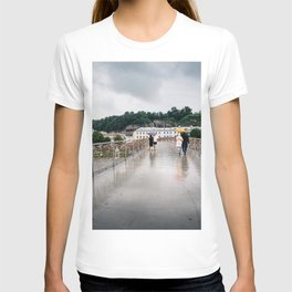 Padlock bridge in Salzburg T-shirt