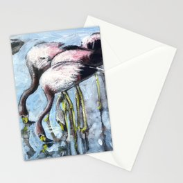 Flamingo party! Stationery Cards