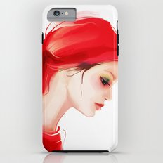 lady in  red Tough Case iPhone 6 Plus