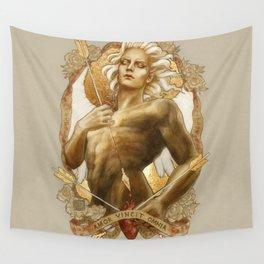 Amor Vincit Omnia Wall Tapestry