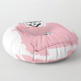 Pink perfume #6 Floor Pillow