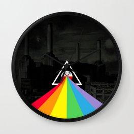 Floydian collage PinkFloyd Wall Clock