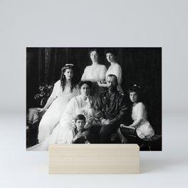 Tsar Nicholas II and his Family - 1913 Mini Art Print