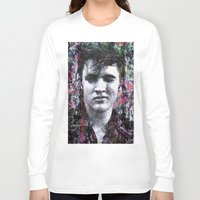 elvis Long Sleeve T-shirts featuring ELVIS PRESLEY by Vonis