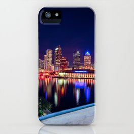Tampa Bay Lights iPhone Case