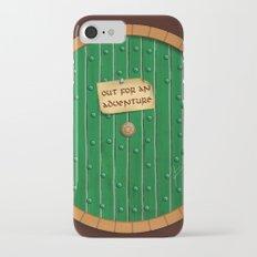 Out for an adventure - hobbit door Slim Case iPhone 7