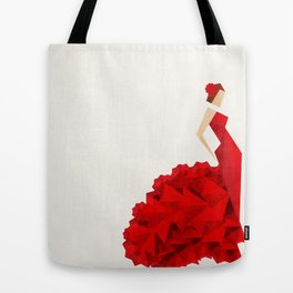 The Dancer (Flamenco) Tote Bag