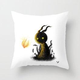 The little Spector Throw Pillow