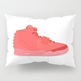 Red October N I K E AIR Y E E Z Y 2 NRG Pillow Sham