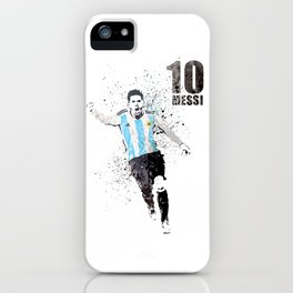 Sports art - World cup Argentina iPhone Case