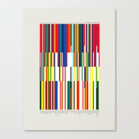 the national Canvas Prints featuring National Colors by Tom Davie
