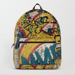 the Berlin wall Backpack