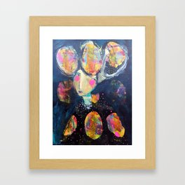 The Risk It Took To Blossom Framed Art Print