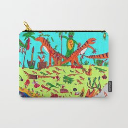 Dinosaur battle_lake Carry-All Pouch