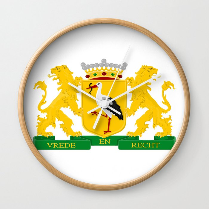 Coat of arms of The Hague Wall Clock
