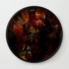 The last hour of Pompei Wall Clock