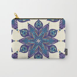Peacock Feather Mandala 2 Carry-All Pouch