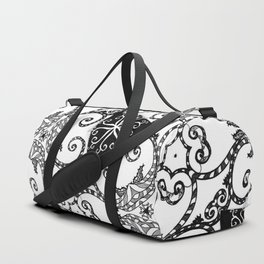 Candy Cane Tangle Duffle Bag