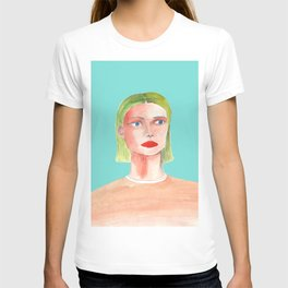 Portrait of a Female T-shirt