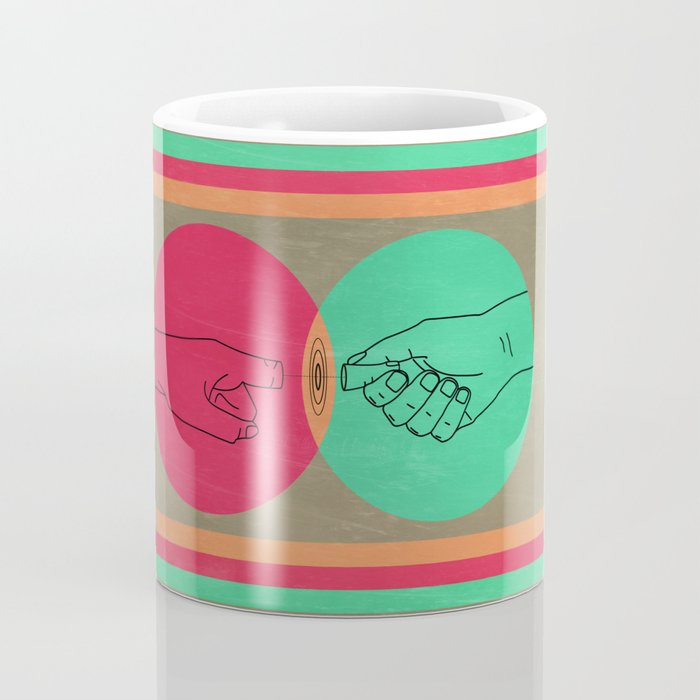 Pull your finger out  Coffee Mug