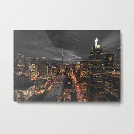 TORONTO CITY CANADA III Metal Print