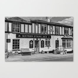 Highwayman Pub Canvas Print