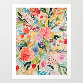 Flower Joy Art Print