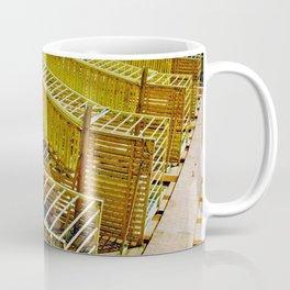 A fire escape grid in Soho Coffee Mug