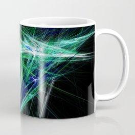 Green light beam Coffee Mug