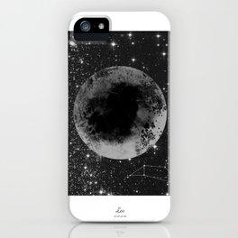 Leo Horoscope iPhone Case