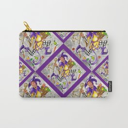 Peace, Plenty and Happiness Fool Carry-All Pouch