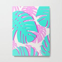 Tropical plant XIX Metal Print