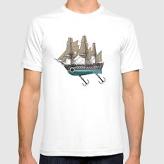 To catch a sea monster White Mens Fitted Tee SMALL