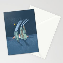 Morning Star - Abstract Stationery Cards