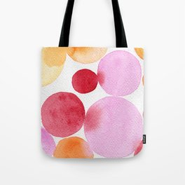 Summer palette Tote Bag